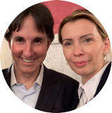 Monica Ion cu Dr. John Demartini